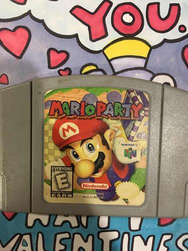Mario Party Nintendo 64 Mario Party 1 N64 - $ 999 00