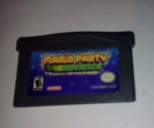 mario party para gameboy advance gba