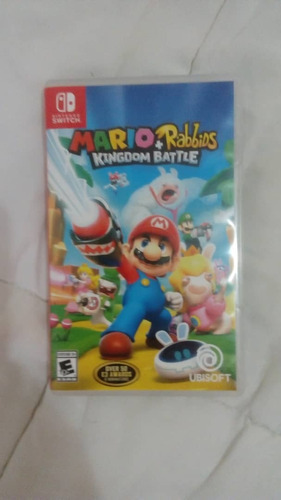 mario + rabbids kingdom battle juego nintendo switch