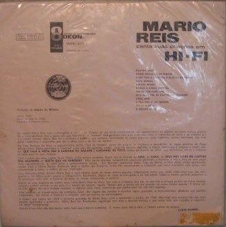 mário reis - canta suas criações em hi-fi - 1960