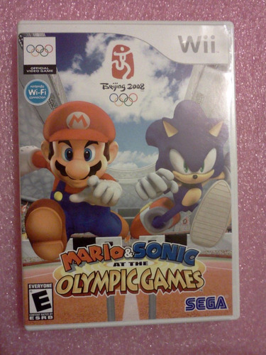 mario & sonic at the olympic games wii envio gratis