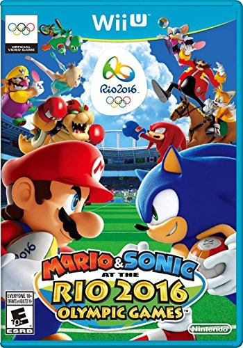 mario & sonic at the rio 2016 olympic games - wii u standard