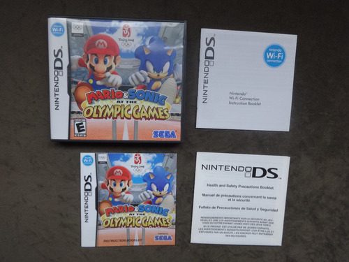mario & sonic olympic games - ds - completo,confira