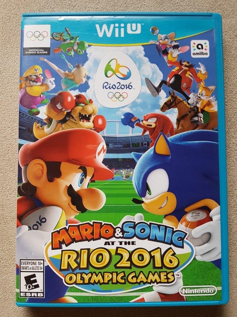 2fddf6264 mario   sonic rio 2016 olympic games - nintendo wii u. Carregando zoom.