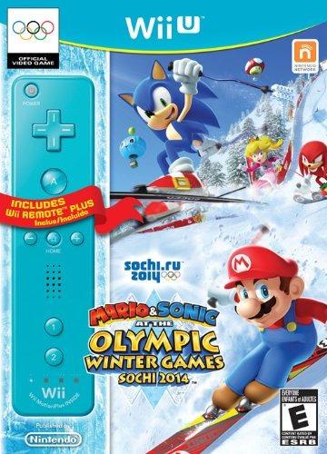 mario  sonic sochi 2014 juegos olímpicos de invierno con wii