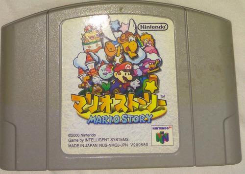 mario story (paper mario) original japonesa n64