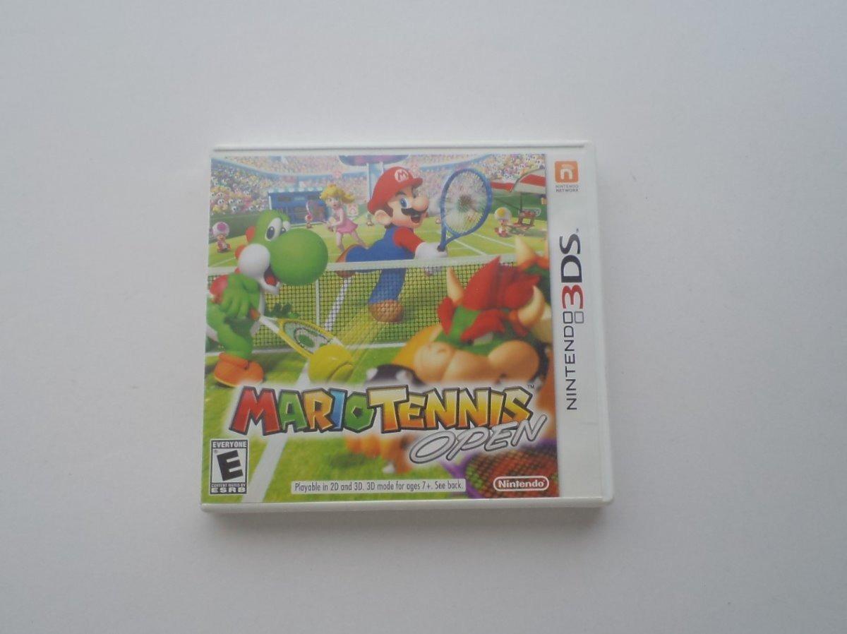 Mario Tennis Open Nintendo 3ds Solo Caja Con Portada - $ 120 00