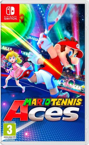 mario tennis switch juego nintendo swtch nuevo fisico