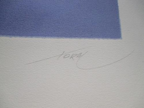 mario toral  - serigrafía