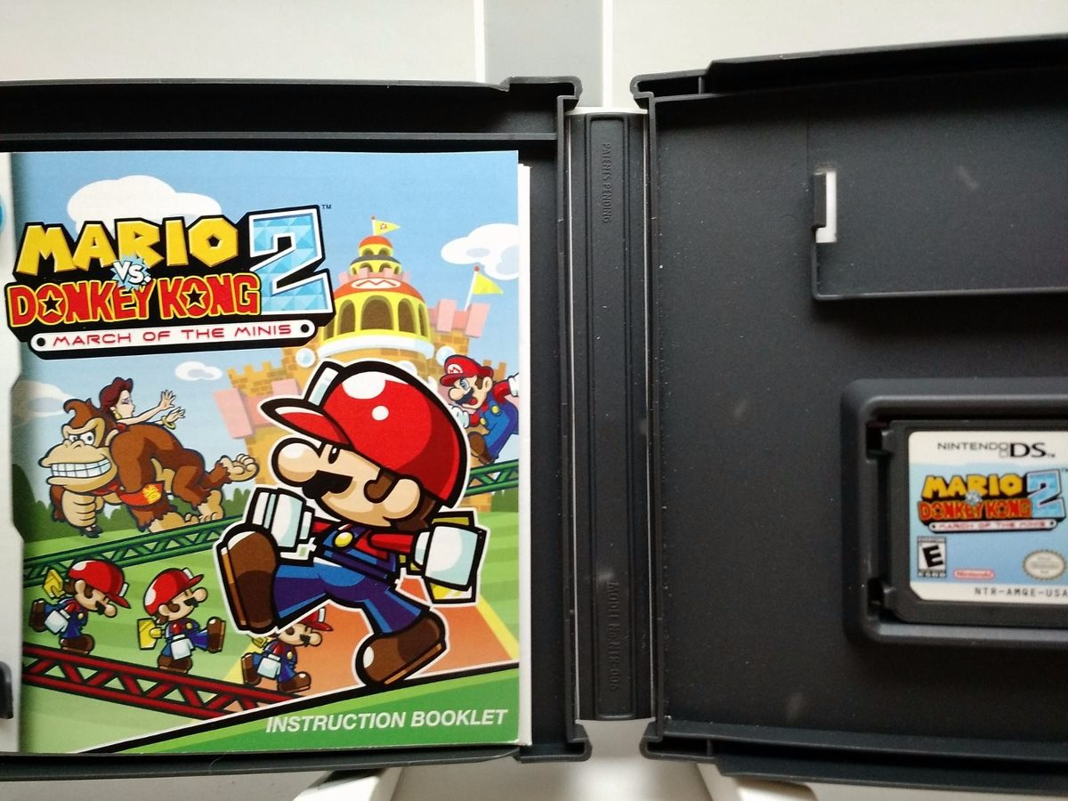 mario vs donkey kong 2 nintendo ds lite dsi 2ds 3ds en mercado libre. Black Bedroom Furniture Sets. Home Design Ideas