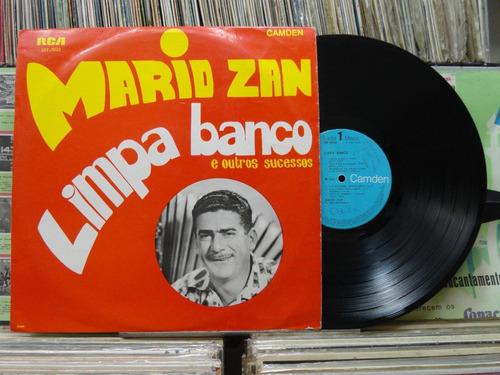 mario zan limpa banco e outros sucessos - lp rca camden 1966