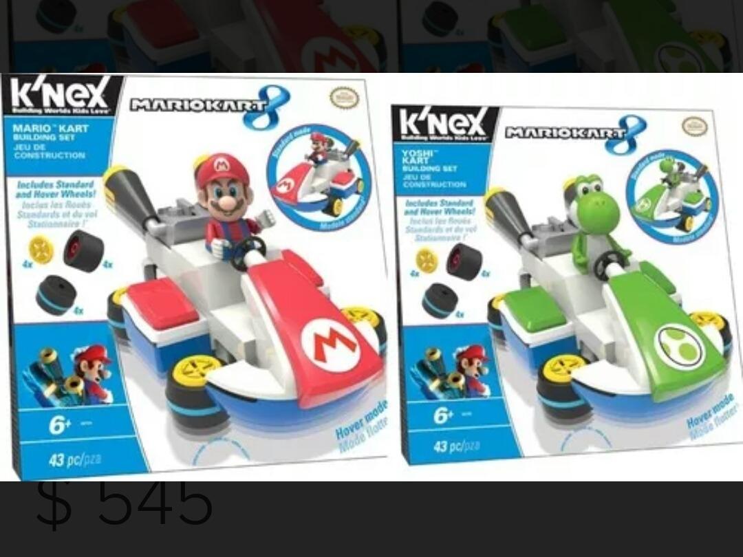 Mariokart 8 Nintendo Set Mario Yoshi K Nex Knex T Lego 550 00 En