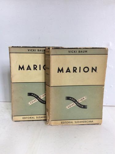 marion, vicki baum, dos tomos