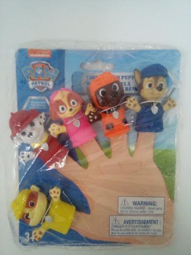 marionetas de paw patrol