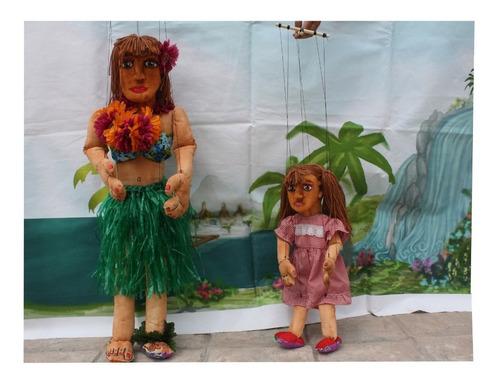 marionetas en vivo por zoom