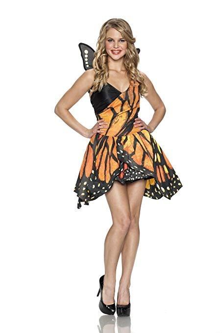89befc44a Mariposa Monarca Alas Vestido Falda Disfraz Halloween Party ...