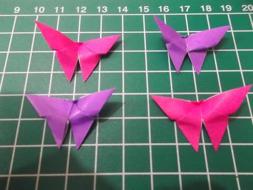 mariposas de papel x 100 10cm