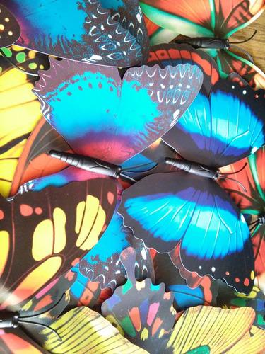 mariposas decorativas (por docena) en chacao sur