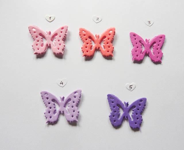 Mariposas Formas En Goma Eva Decoracion Lila Elija Color - $ 5,00 en ...