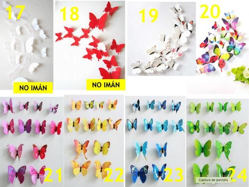 mariposas refrigerador se pega en pared decorativas con iman