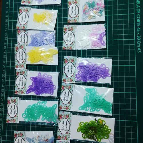 mariposas,puntillas,mandalas,flores en papel de arroz 100% c
