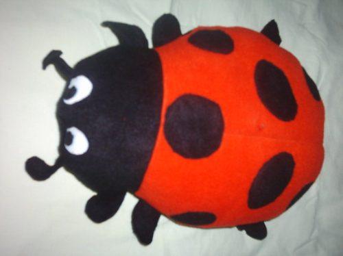 mariquitas almohadas cojín antiestres nuevo juguete venta