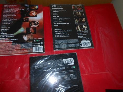 marisa monte lote fechado com 4 dvd's originais muito barato