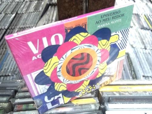 marisa monte universo ao meu redor cd original lacrado