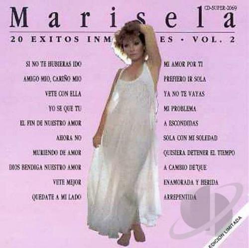 marisela / 20 exitos inmortales vol.2 / cd