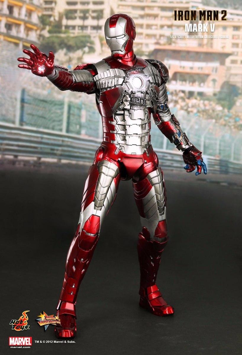 Iron Man 2: Mark 5 Mark V Hot Toys Iron Man 2 Homem Ferro Tony Stark