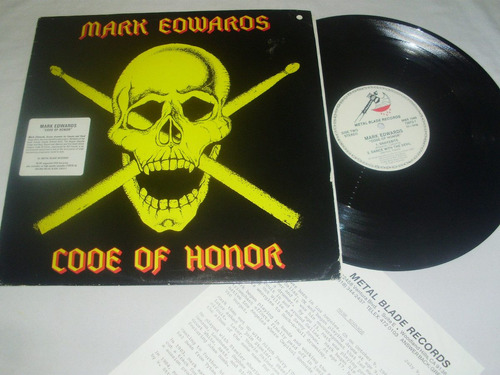 mark edwards - code of honor '85 ( batero lion)