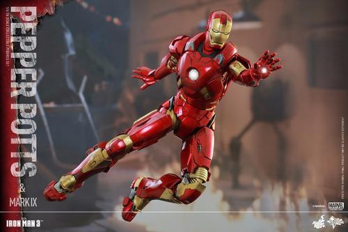 mark ix hot toys 9 iron man homem de ferro tony stark pepper