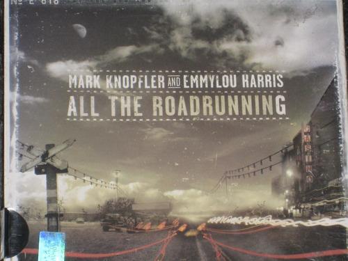 mark knopfler & emmylou harris/ all the roadrunning cd