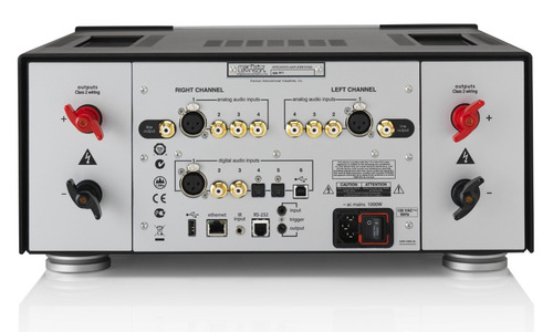 mark levinson no 585 amplificador estéreo