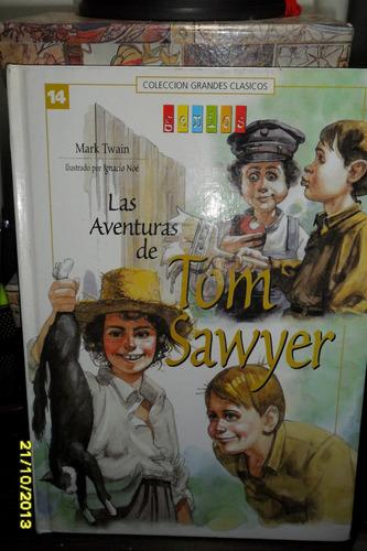 mark twain la aventuras de tom sawyer  usado