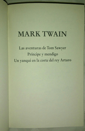 mark twain,obras selectas.