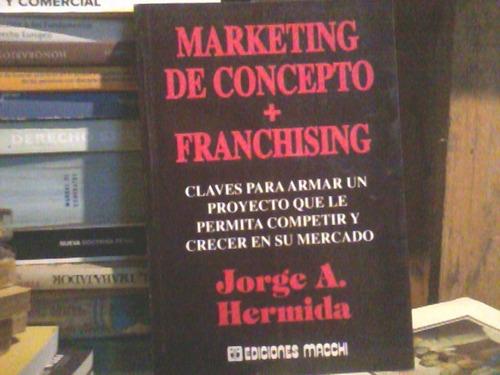 marketing de concepto + franchising hermida