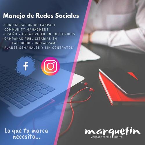 marketing digital, administración de redes sociales