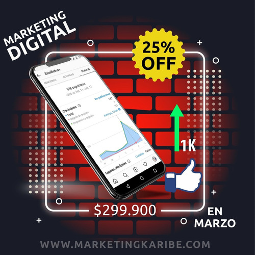 marketing digital, creación página web.
