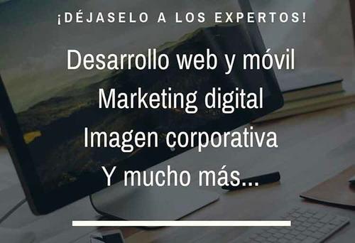 marketing digital, diseño y desarrollo de sitios web.