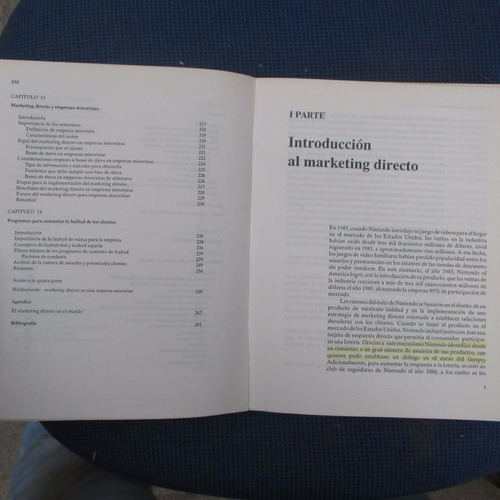 marketing directo, concepto y aplicaciones, miguel mendoza h