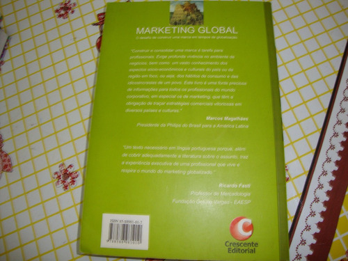 marketing global - amalia sina ( fotos reais do livro )
