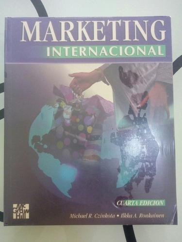 marketing internacional mcgrawhill libro nuevo importado