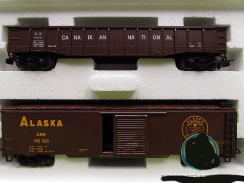 marklin: set carros de carga norte americanos alaska