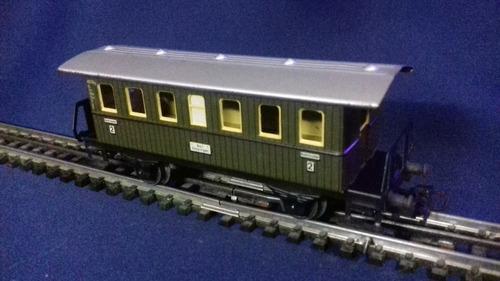 marklin, vagon de pasajeros, tren a escala