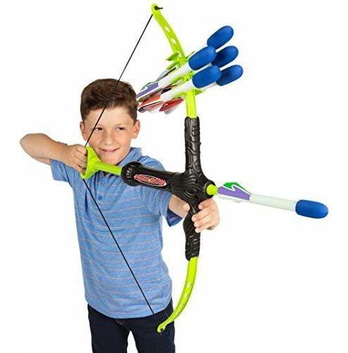 marky sparky faux bow 3 arcos flechas lanzador +30 metros