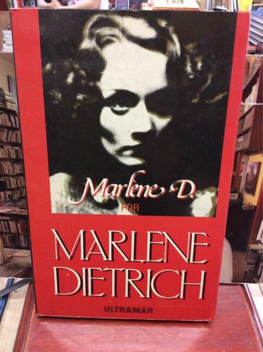 marlene d. por marlene dietrich - ed. ultramar - 1985