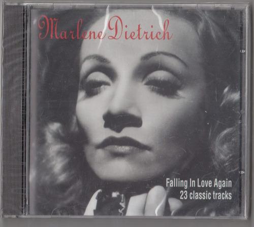 marlene dietrich. falling in love again. cd original nuevo