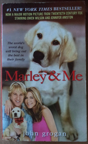 marley and me john grogan libro en inglés cpx207