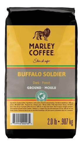 marley coffee buffalo soldier 0.9kg grano entero orgánico